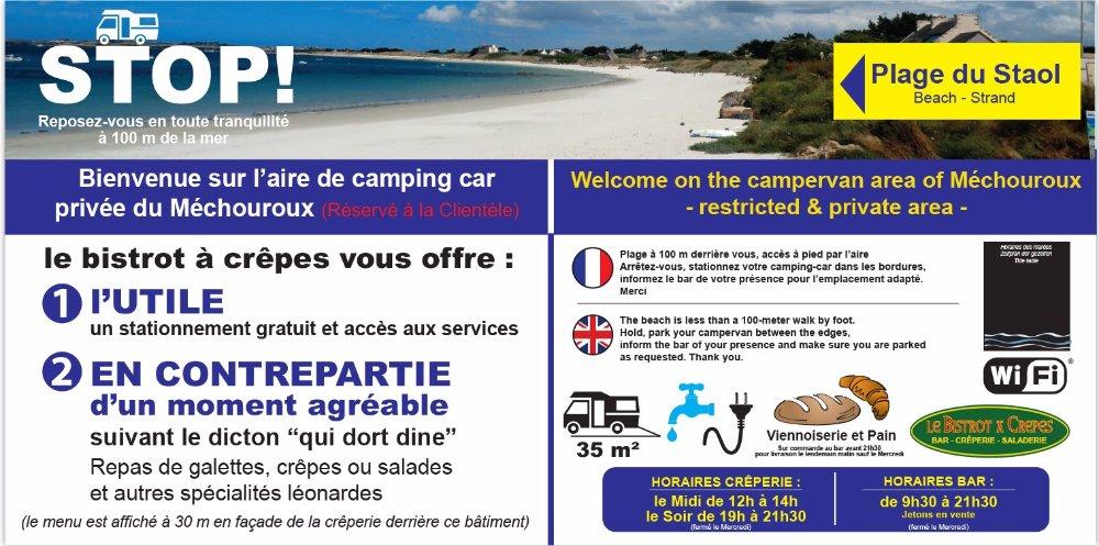 Aire camping-car à Santec (29250) - Photo 1